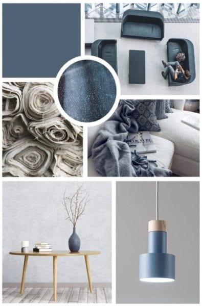 השראה - blue